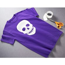 Duck Tape® Skeleton Head T-Shirt, medium